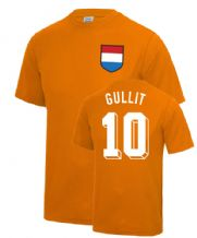 Ruud Gullit Holland Netherlands World Cup Football T Shirt